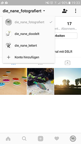 Instagram Multiaccounts