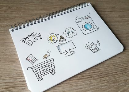 Von Sketchnotes Basics zum Bild